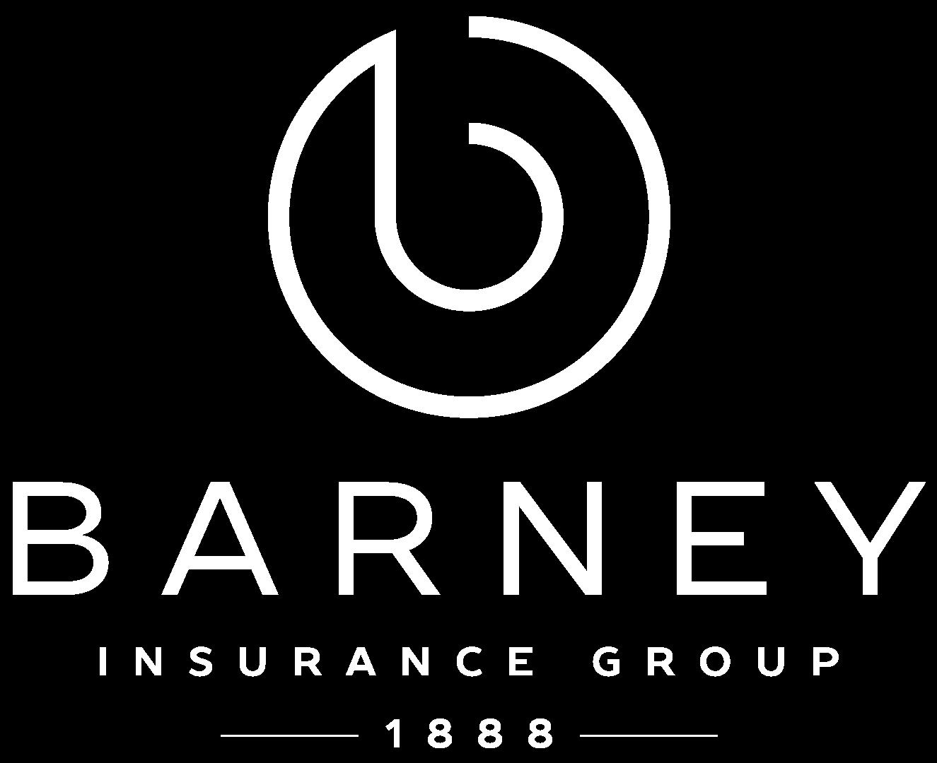 barney white logo