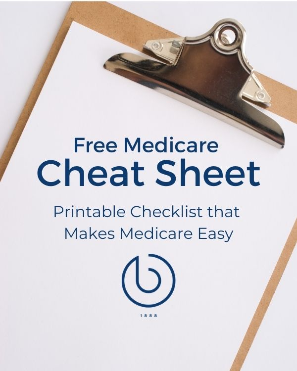 Free Medicare Cheat Sheet