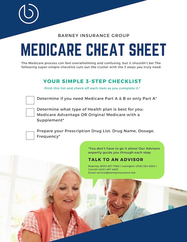 Medicare cheet sheet free download